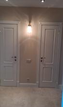 Белые двери ручной работы