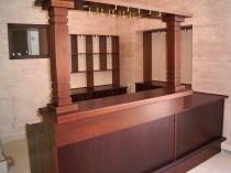 Барная стойка в классическом стиле выполненная под заказ