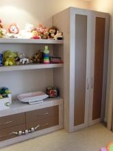 Полка выполненная под заказ для детской комнаты общий план